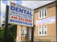 Sheppard & Yonge Dental Health Centre; North York Dental Office